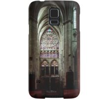 North Transept Cathedral St Etienne Chalons sur Marne France 198405060041 Samsung Galaxy Case/Skin