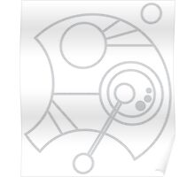 Custom Name in Circular Gallifreyan from Doctor Who  Poster