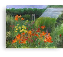 Vermont Garden Canvas Print
