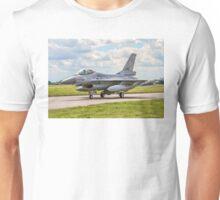 Fokker F-16AM J-881 323 TACTESS Unisex T-Shirt