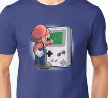 Mario Through the console Unisex T-Shirt