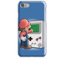 Mario Through the console iPhone Case/Skin