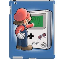 Mario Through the console iPad Case/Skin