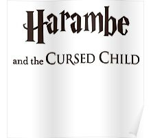 Harambe And The Cursed Child Poster