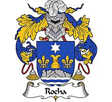 Rocha Coat of Arms/ Rocha Family Crest Photographic Print