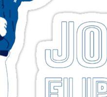 Joey flippin bats Sticker