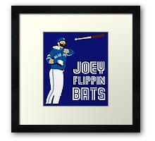 Joey flippin bats Framed Print