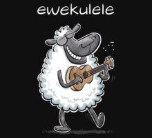 Ewekulele - a sheep and a ukulele One Piece - Short Sleeve