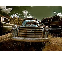 Abandoned GMC Panel Truck Photographic Print