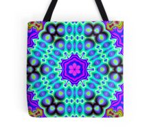 CVD0099 Bent Ask Psychedelic Art Colorful Vivid Tote Bag