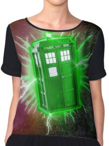 The Doctors Smaragdos (In the Emerald Extravalius Nebula) Chiffon Top