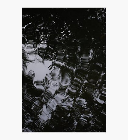Black Water Run Photographic Print