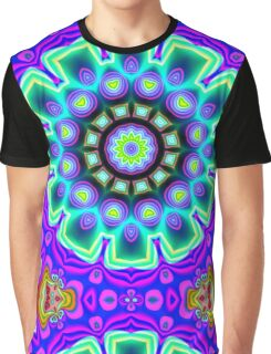 CVD0098 Bent Arnfinn Psychedelic Art Colorful Vivid Graphic T-Shirt