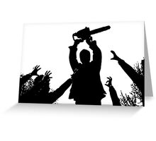 Zombie Festival Greeting Card