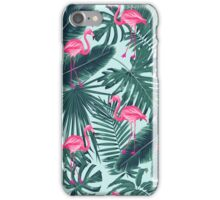 tropic abstract flamingo iPhone Case/Skin