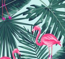 tropic abstract flamingo Sticker