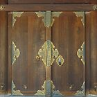 Doors in the Meiji Shrine by Chris Allen