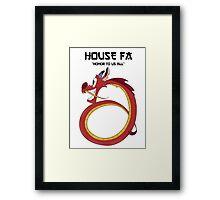 House Fa Framed Print