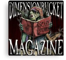 DimensionBucket Magazine Podcast Artwork Canvas Print