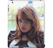 magnificent  beautiful young woman iPad Case/Skin
