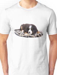 Bernese Mountain Dog Puppy Unisex T-Shirt