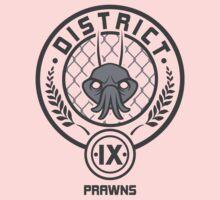 Prawn District (HG Parody) Kids Tee