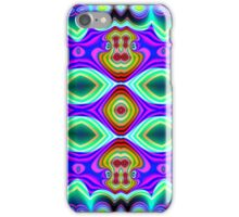 CVD0096 Bent Are Psychedelic Art Colorful Vivid iPhone Case/Skin