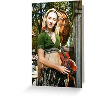 The Gypsy Greeting Card