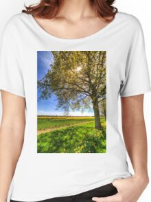 The Summer Daffodil Farm Women's Relaxed Fit T-Shirt