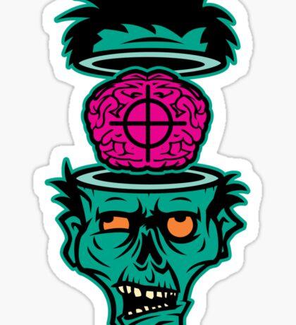 Shoot 'em in da Head Bro! Sticker
