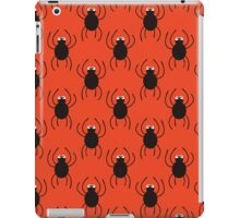 Halloween spiders simple pattern. Cute seamless background.  iPad Case/Skin