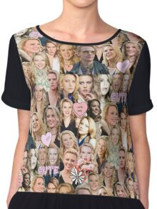 Kate McKinnon collage Chiffon Top