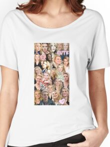 Kate McKinnon collage Women's Relaxed Fit T-Shirt