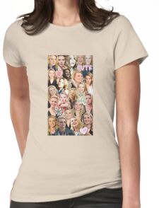 Kate McKinnon collage Womens Fitted T-Shirt