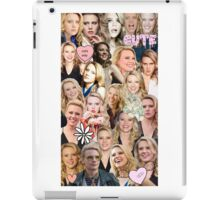 Kate McKinnon collage iPad Case/Skin
