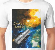 Seeing Farther Learning More Hubble and Astronomy Unisex T-Shirt