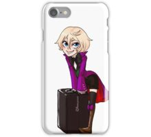 The Suitcase is Empty! iPhone Case/Skin
