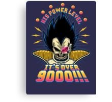 Over 9000! Canvas Print