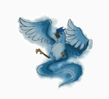 Watercolour Articuno One Piece - Short Sleeve