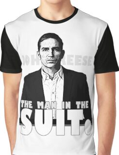 Person of Interest - The Man in the Suit Graphic T-Shirt
