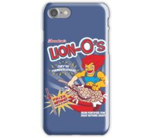 Lion-O's Cereal iPhone Case/Skin