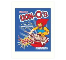 Lion-O's Cereal Art Print