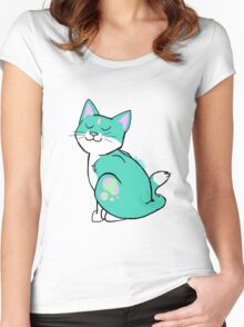 My Little Kitten - Eureka Edition Women's Fitted Scoop T-Shirt