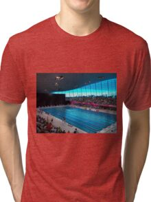 London Olympic Pool 2012 Tri-blend T-Shirt
