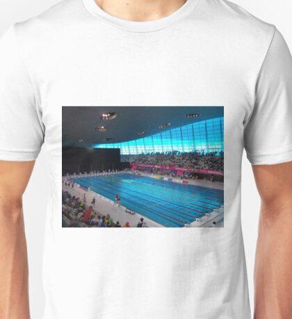 London Olympic Pool 2012 Unisex T-Shirt