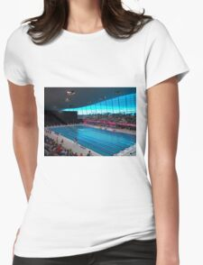 London Olympic Pool 2012 Womens Fitted T-Shirt
