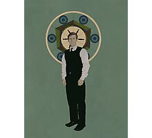 Handsome Doctor Photographic Print