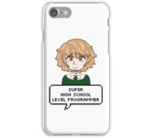 super high school level programmer ! iPhone Case/Skin