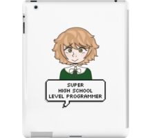 super high school level programmer ! iPad Case/Skin