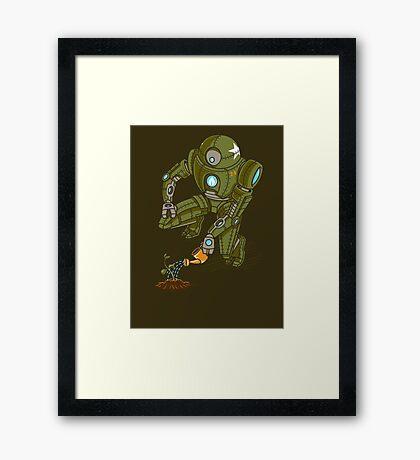 Eco-Robo Unit  #24 Framed Print